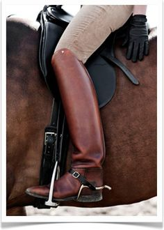 a beautiful thing it is to be in the saddle and feel the leather and a horse beneath you as one