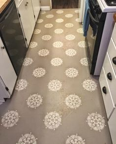 DIY Floors: Vinyl to Tile for Only $50