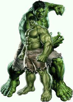 Superman Hulk, Hulk Avengers, Hulk Marvel, Marvel Heroes, Arte Dc Comics, Marvel Comics Art, Marvel Comic Universe, Hulk Tattoo, Hulk Artwork