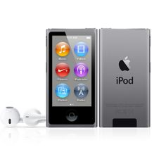 APPLE iPod Nano Generation (Space Gray) (released in October Ipod Nano, Apple Store Uk, Thing 1, Multi Touch, 6 Photos, Digital Audio, Red Apple, Giveaway, Gray