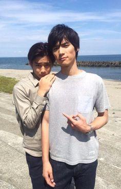 "Shuhei Nomura x Sota Fukushi, J drama series ""Koinaka"" 2015 [Ep w/Eng. sub] http://www.dramatv.tv/watch-drama/koinaka-ep-1-english-sub.html"
