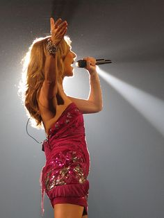 go to a Celine Dion concert! (did any of you like her hair in the early part of her career when it was super short? I loved it!)