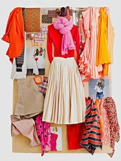 Loving jcrew Spring and flourescent! Fashion Week, Love Fashion, Fashion Vintage, Madame, Swagg, Dress Me Up, Color Inspiration, Inspiration Boards, Fashion Inspiration