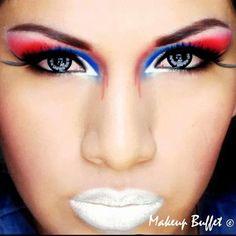 Late 4th July make-up