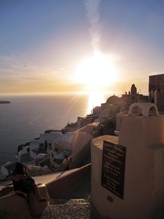Marked arrival - Oia, Santorini, Greece :)