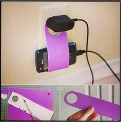 DIY Mobile Phone Holder