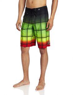 Men's #Fashion Clothing: #Swimwear: Hurley Men's Puerto Rico Sands Phantom Boardshort #Shorts: Clothes