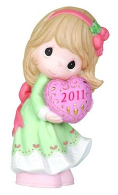 """Precious Moments 2011 Dated Figurine """"Love Is The Best Gift Of All"""" by Precious Moments, http://www.amazon.com/dp/B00548K9EA/ref=cm_sw_r_pi_dp_NCbgsb06BZADC"""
