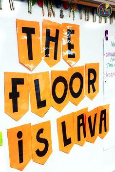 Floor Is Lava Classroom Transformation - The Lifetime Learner Transformations Math, Teaching Math, Teaching Ideas, Elementary Teaching, Upper Elementary, Maths, Elementary Schools, The Floor Is Lava, Common Core Math Standards