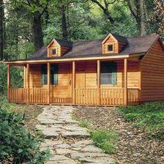 Unfinished Homesteader Log Cabin | DIY Cabin Kits For Sale