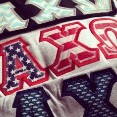 alpha chi omega! That flag stitch though!
