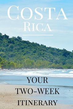 A 2-week itinerary for seeing the best of Costa Rica http://www.twoweeksincostarica.com/costa-rica-your-2-week-itinerary/ #CostaRica #vacation