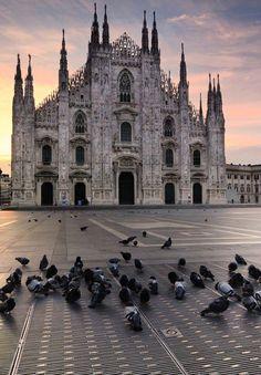 Plazza del Duomo , Milan, from Iryna