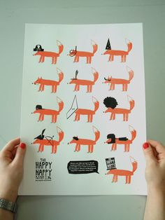Because of one of my friends I fell in love with foxes.. about a week ago. Adorable. Totally adorable. Illustrator: Nicholas Saunders