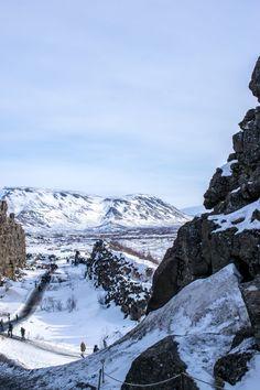 Visiting Thingvellir National Park, Iceland - Kat Got Your Tongue? Iceland Travel, Holiday Iceland, Thingvellir National Park, Virtual Tour, Where To Go, Travel Inspiration, Boston, Cities
