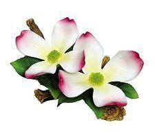 Andrea By Sadek *Double Dogwood* Flower Made of Porcelain