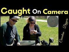 Caught on Camera. Metal Detecting 2017.Canadian Diggers