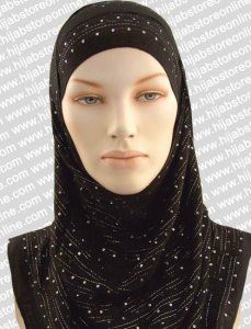 Hijab - Sequin Stripes - Black tai sama tuote värinä Hot Pink Hijabs, Crinkles, Latest Fashion, Hot Pink, Ready To Wear, Chiffon, Sequins, Stripes, Outfits