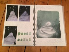 Photography leading towards a composition idea for a painting trying to represent the theme of 'ethereal' A Level Sketchbook, Movement Drawing, Ethereal, Composition, Relationships, Polaroid Film, Drawings, Photography, Painting