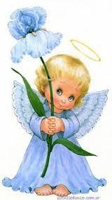 Картинки для декупажа ангелочки