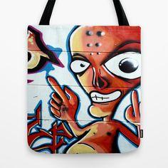 Graffiti Tote Bag by Fine2art - $22.00