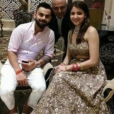 Anushka Sharma Virat Kohli, Virat And Anushka, Bollywood Celebrities, Bollywood Fashion, Ethnic Dress, Sherwani, Beautiful Indian Actress, Bridal Lehenga, Beautiful Couple