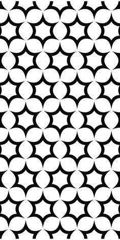 Seamless black and white hexagonal vector star pattern design – Tattoo Pattern Stencil Templates, Stencil Patterns, Stencil Art, Graphic Patterns, Star Patterns, Textures Patterns, Graphic Design, Geometric Star, Geometric Designs