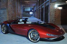 Ultra-Exotic 2013 Pininfarina Sergio Concept