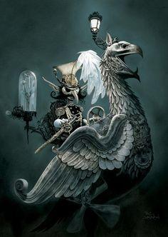 Paul Davidson  #Steampunk #Griffin