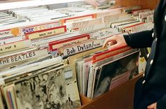 One of my favourite places as a teen was the Record store.