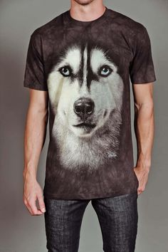 SIBERIAN FACE TEE by THE MOUNTAIN @ Jack Threads