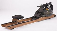 First Degree Fitness Apollo Hybrid AR Home Fluid Water Rower Machine