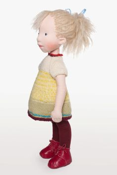 Bridget Handmade cloth doll by AldegondeCeelen on Etsy