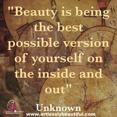 We truly believe that inner beauty is as important as outer beauty. #positiveenergy #beautyquotes  www.artlesslybeautiful.com Sign up for our Newsletter for a chance to win FREE skincare http://artlesslybeautiful.com/pages/join-our-mailing-list  #organicskincare #lifetips #beautifulskin #naturalbeauty #vegan #vegans #naturalbeautyproducts #veganbeautyproducts #beautyblogger#crueltyfreeblogger#crueltyfree#greenbeauty#naturalingredients#greenskincare #chemicalfree #greenskincare #s