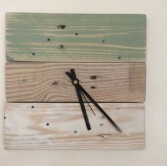 Wall Clock Wooden Wall Clock Reclaimed Wood by SpudsCreativeAsylum