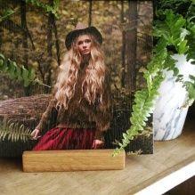 Печать фото на дереве