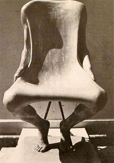 Henry Moore, Girl Anachronism on ArtStack #henry-moore #art