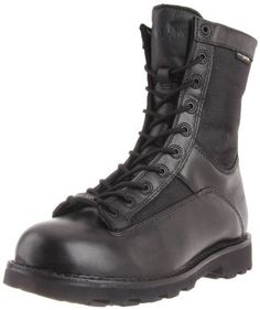 Bates Men's Defender 8 Inch Lace To Toe WP Waterproof Boot, Black, 8.5 M US - http://authenticboots.com/bates-mens-defender-8-inch-lace-to-toe-wp-waterproof-boot-black-8-5-m-us/