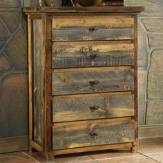 Mountain Woods Furniture® Wyoming Collection™ 5-Drawer Chest