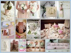 The Perfect Silver Wedding Concept for Chic Winter Wedding: shabby-chic-weddings_multi-colors Silver Wedding Concept