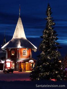 La Casa del Natale del Villaggio Vacanze di Babbo Natale a Rovaniemi in Finlandia