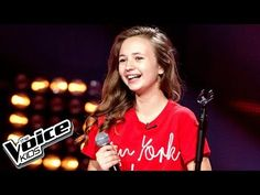 """Anna Dąbrowska - """"Hurt"""" - Blind Audition - The Voice Kids Poland 2 Poland, The Voice, It Hurts, Anna, Wattpad, T Shirts For Women, Youtube, Kids, Young Children"""