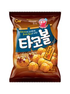 CW / 청우식품 / 타코볼 / TACOBALL / SNACK / PACKAGE / 2016