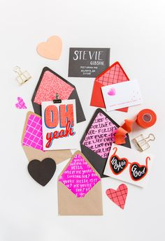 Line It Up: How to Make DIY Envelope Liners for Valentine's Day