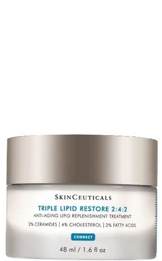 Triple Lipid Restore is an anti-aging cream to improve the appearance of skin smoothness, laxity, pores, and overall radiance while nourishing dry skin. Creme Anti Rides, Creme Anti Age, Anti Aging Cream, Homemade Moisturizer, Homemade Skin Care, Cream For Dry Skin, Skin Cream, Eye Cream, Anti Aging Treatments