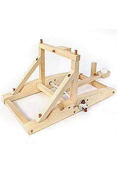 wooden catapult