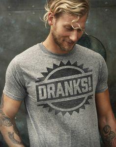 dranks tee [ UpUrGame.com ] #guy #fashion #game