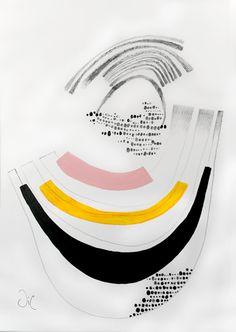 Contemporary Modern Art an Original Abstract por VictoriAtelier, $145.00