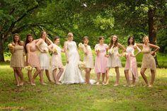 vintage bridesmaids dresses!
