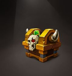 The treasure box on Behance